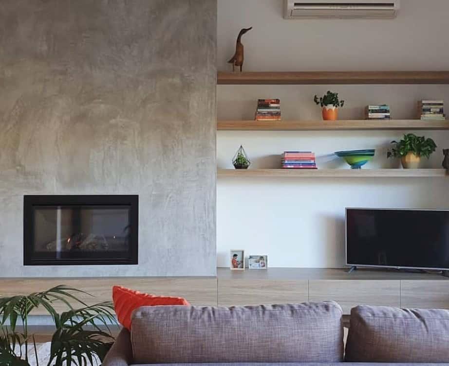 Escea DF960 in Melbournian Home - Escea Fireplaces - Just Gas Log Fires